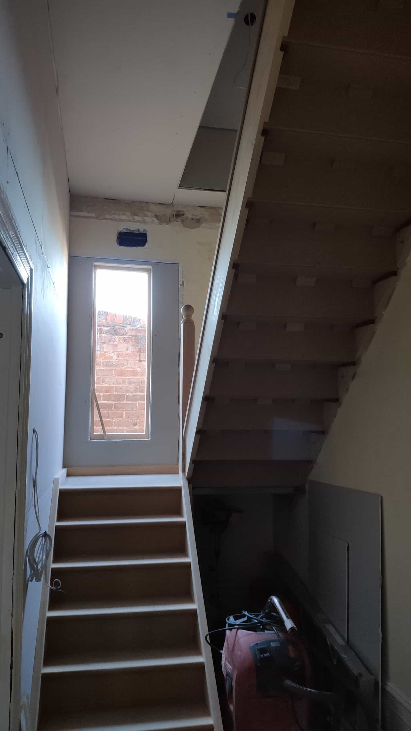Staircase in Subiaco prior to finishing